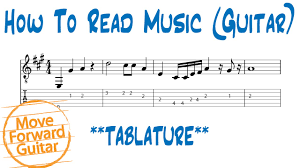 How To Read Music Guitar Tab Vs Standard Notation