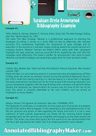 Professional Annotated Bibliography Sample Turabian