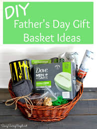 diy fathers day gift basket ideas