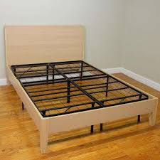 Attractive Twin Size Platform Bed Frame With Foldable Bed Frames Bedroom  Furniture The Home Depot