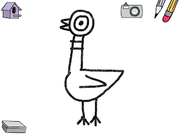 Small Picture Coloring Pages Mo Willems Coloring Pages Mycoloring Free