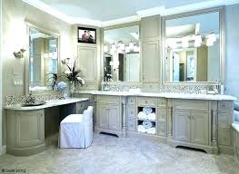 master bathroom vanity double average size