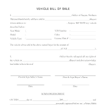 Bill Of Sale Texas Template Free Bill Of Sale For Car Texas Vehicle Template
