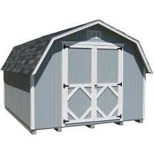 8 ft wood storage building diy kit