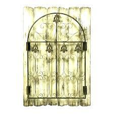 wall gate decor gate wall decor wrought iron art charming decoration large iron window gate wall wall gate decor