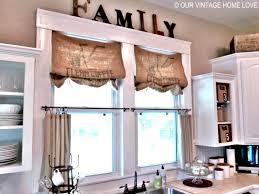 Gingerbread Kitchen Curtains Kitchen Accessories Impressive Diy Kitchen Window Treatment Ideas