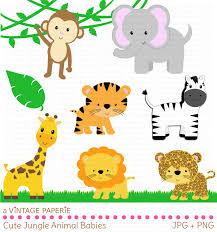 Safari Animals Template 16 Safari Animal Templates Images Jungle Animals Baby