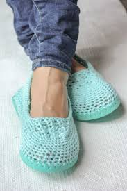 Crochet Moccasin Slippers Free Patterns