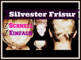 Silvester Frisur Schnell Einfach Easy Updo Youtube