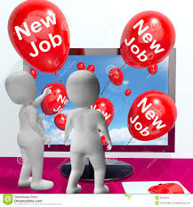 new job balloons show online congratulations royalty stock new job balloons show online congratulations