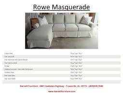 slipcover sectional sofa with chaise. Rowe Masquerade Slipcover Sectional Sofa With Chaise A