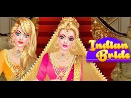 indian doll bridal fashion