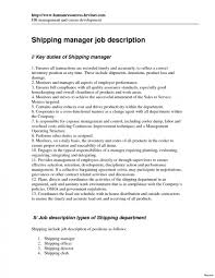 Shipping And Receiving Resume Examples Shipping Receiving Clerk Resume Examples Assistant And Image Of for 18