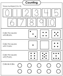 Giúp bé ôn tập các số từ 1 đến 10