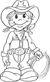 Cowboy Printable Coloring Pages Online Printable Coloring Sheet Of A