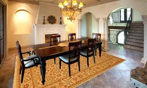 what size rug under 60 inch round table what size rug for 60 round table