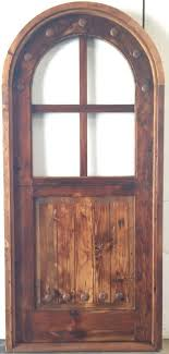 rustic reclaimed lumber arched top dutch door glass u choose dimensions