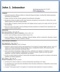 resume lab assistant