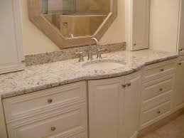 white bathroom cabinets with granite. the best material for bathroom vanity countertop : awesome interior design using white cabinets with granite