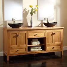 Bathroom Cabinets Bamboo Top Bathroom Sink Cabinets Vanity