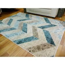 modern rugs multi style chevron large