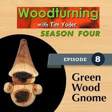green wood garden gnome