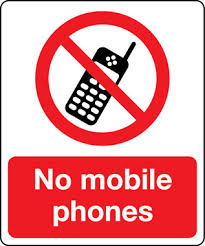 No Mobile Phones Sign Stocksigns