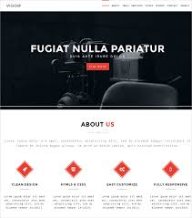 One Page Website Template New 48 One Page Website Themes Templates Free Premium Templates