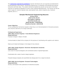 Mechanical Design Engineer Resume Cover Letter Cover Letter for Resume Of Mechanical Engineer Tomyumtumweb 46
