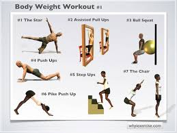 Back Workout Chart Step By Step Body Weight Exercises An Illustrated Home Strengthening
