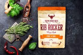 rum que rib rocker meat rub omak