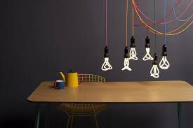 decorative lighting ideas. 2-creative-lamp-ideas-bright-multicolored-wires-bulbs- Decorative Lighting Ideas