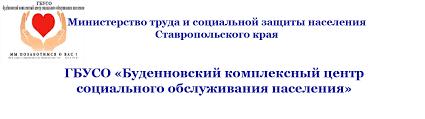 Отчёт о работе ГБУСО Буденновский комплексный центр социального  Отчёт о работе ГБУСО Буденновский комплексный центр социального обслуживания населения в 2014 г