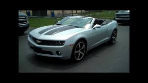 2011 Chevy Camaro Convertible RS - YouTube