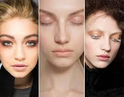 fall winter 2016 2016 makeup trends simple eye makeup