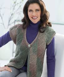 Free Knitted Vest Patterns Stunning Free Knitting Patterns For Women Ladiesu48 Mitered Square Vest