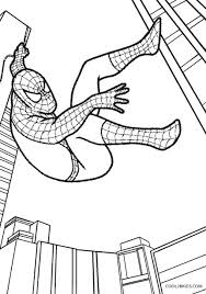 Coloring pages for spiderman (superheroes) ➜ tons of free drawings to color. Printable Spiderman Coloring Pages For Kids