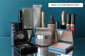 what s in my makeup bag video how to use it