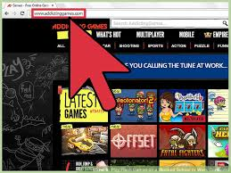 image led play flash games on a blocked or work puter step 1