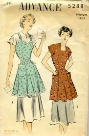 Vintage Apron Patterns Classy Tie One On Vintage Apron Patterns