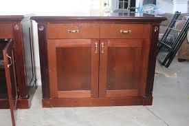 wood office cabinet. Two Dark Wood Office Cabinet With Drawers Wood Office Cabinet