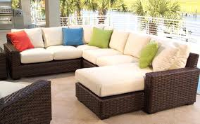 patio couch cushions wicker love seat replacement