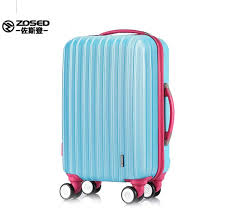 zosed 22 inch 8 colors expandable lockable wheels anti scratch surface with build in