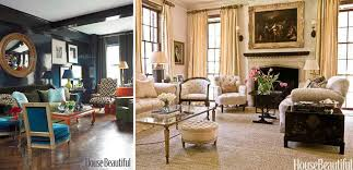 Two Classic Living Rooms- One Dark, One Light