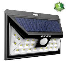 Quace Solar Lights Hardoll 24 Led Solar Lights Wide Angle Outdoor Motion Sensor