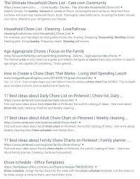 Household Chores Checklist Template Literals Ie11 The Easiest Way To Make A Chore  List