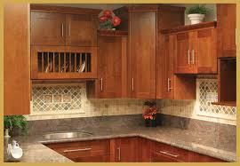 Autumn Cherry Shaker Cabinet Kitchen Remodel 123