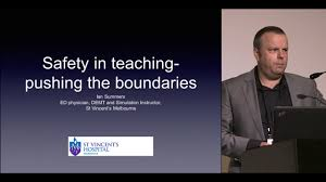 2015 ASM: Safety in teaching - pushing the boundaries — Dr Ian Summers on  Vimeo
