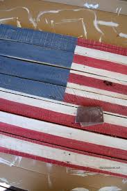 we relied heavily on a picture of the american flag to get the dimensions and the layout of all 50 stars as correct as possible it ended up being 5 rows of
