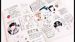Exo Notebook Design Diy My Exo Notebook Materials I Use